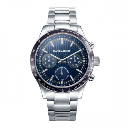 Reloj Mark Maddox Azul Deportivo Brazalete Acero