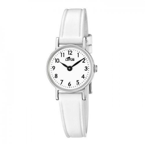 Reloj Lotus Niña Correa Blanca