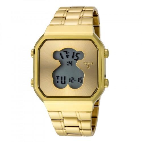Reloj Tous Digital D-Bear Brazalete Dorado
