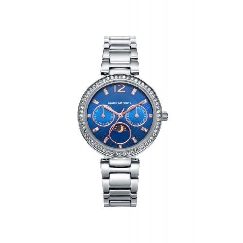 Reloj Mark Maddox Azul Brazalete Acero