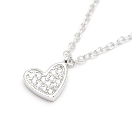 Colgante Agatha Corazón Cristales