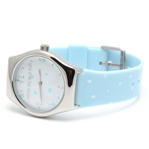 Reloj Agatha Celeste Topos Blancos