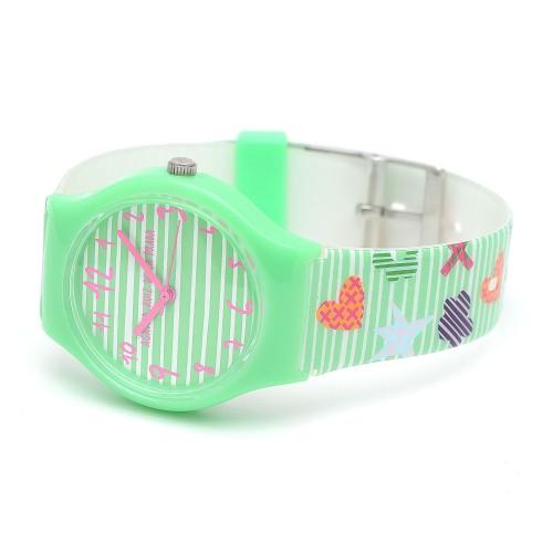 Reloj Niña Agatha Verde Correa Colores