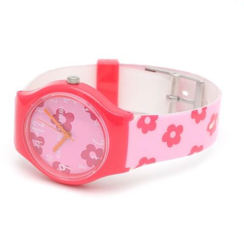 Reloj Niña Agatha Fucsia Correa Flores