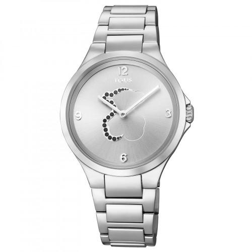 Reloj Tous Motion Acero con Cristales Negros