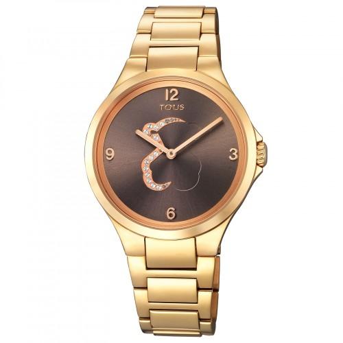 Reloj Tous Motion Dorado con Cristales