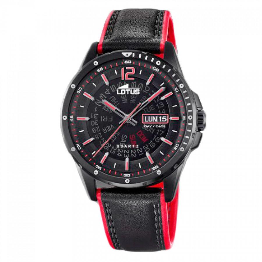 Lotus 158013 Reloj cronógrafo para hombre negro con