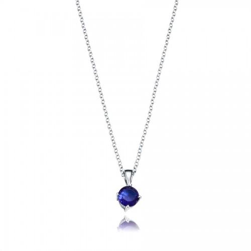 Colgante Plata Viceroy Cristal Azul
