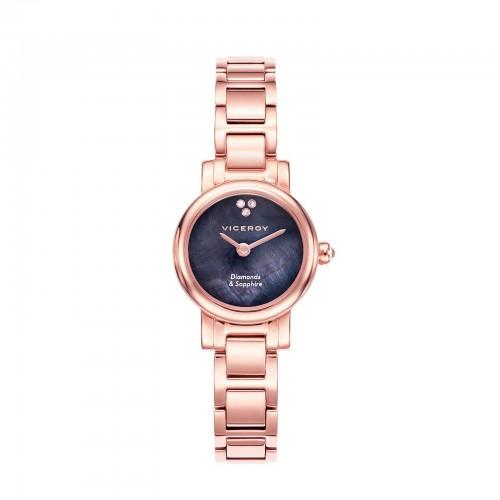 Reloj Viceroy Diamantes Brazalete Dorado