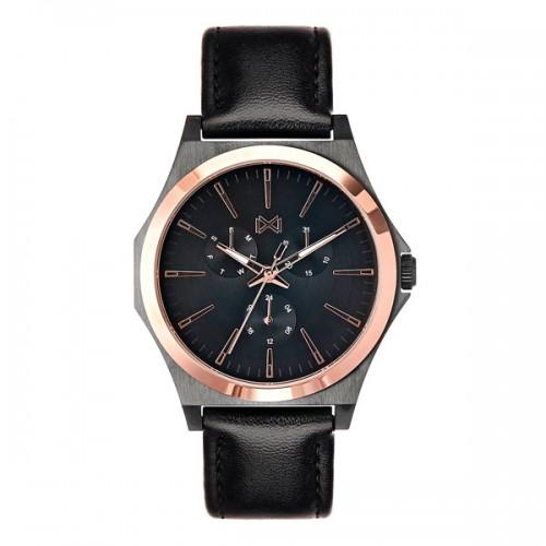 Reloj Mark Maddox Chico Dorado Correa Negra