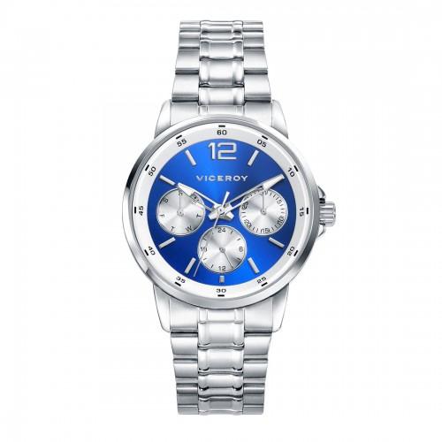 Reloj Viceroy Niño Azul Deportivo Brazalete Acero