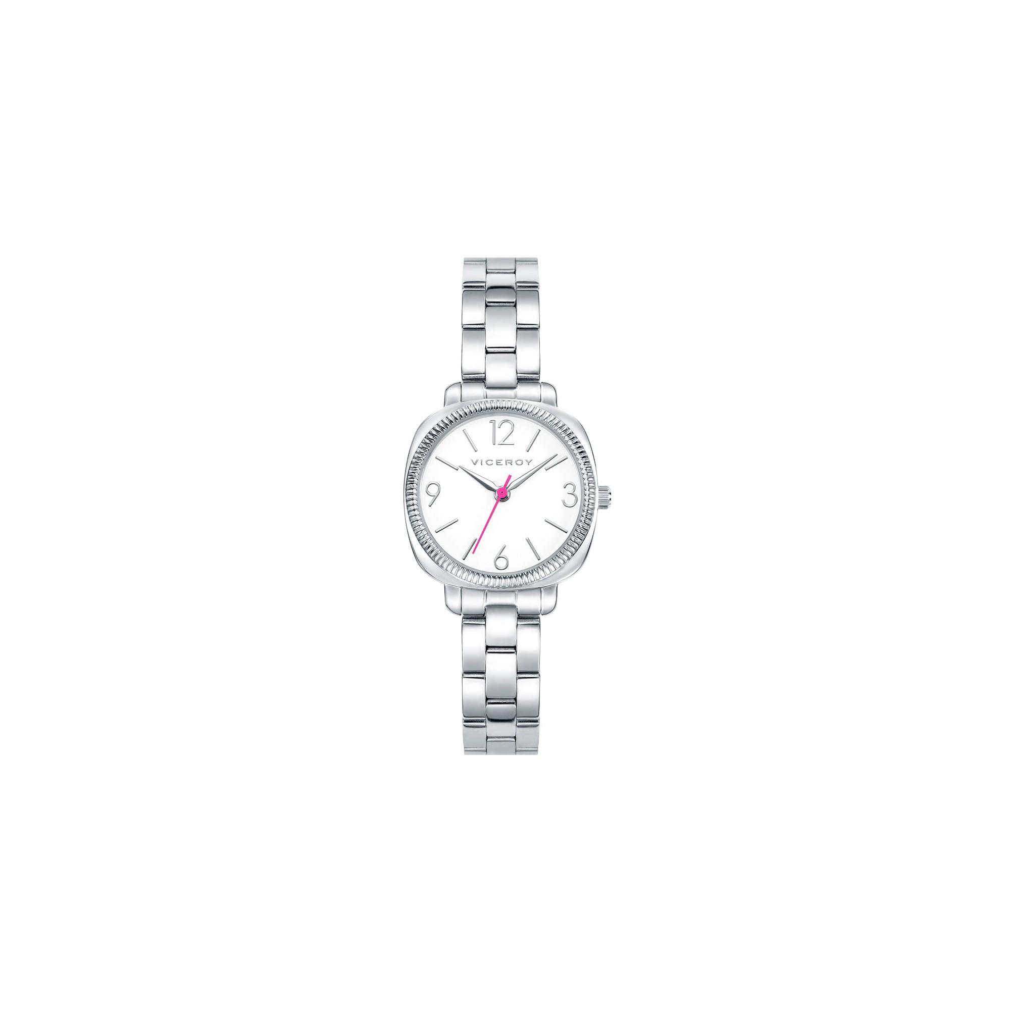 Reloj Viceroy Chica Ni 241 A Comuni 243 N Rosa Brazalete Acero