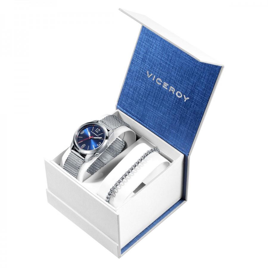Estuche Reloj Viceroy Azul Niño con Pulsera