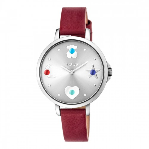 Reloj Tous Super Power Acero Correa Roja