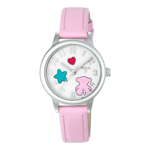 Reloj Tous Niña Muffin Acero Correa Rosa