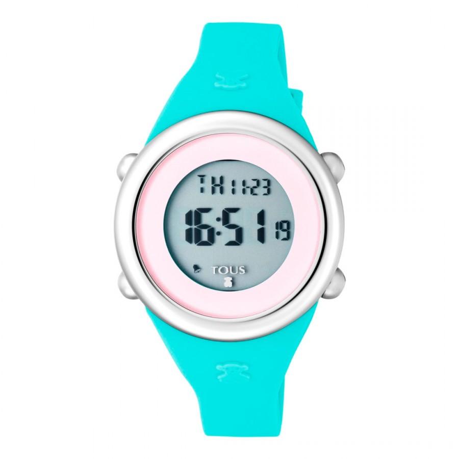 Reloj Tous Soft Digital Correa Goma Verde