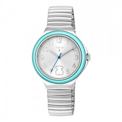 Reloj Tous Easy Turquesa Brazalete Elástico Acero