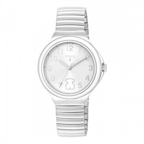 Reloj Tous Easy Blanco Brazalete Elástico Acero