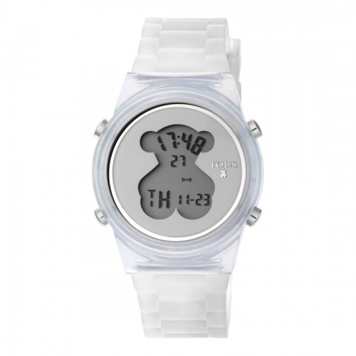 Reloj Tous D-Bear Digital Goma Transparente