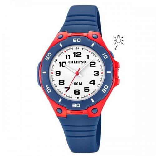 Reloj Calypso Niño Correa Goma Azul