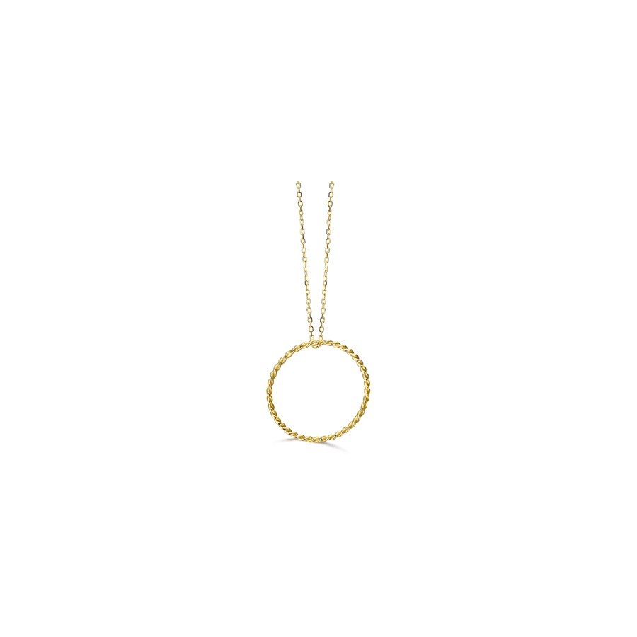 Gargantilla Oro LeCarré Aro Espiral