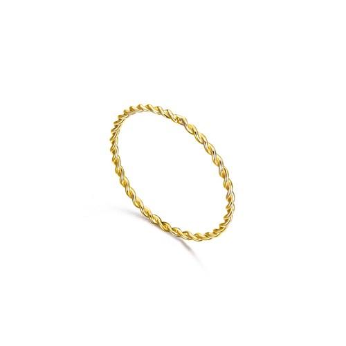Anillo Oro LeCarré Aro Espiral