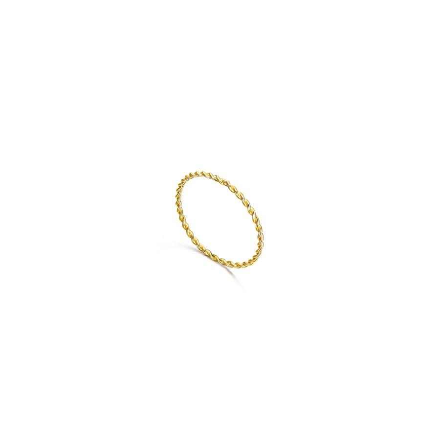 Sortija Oro LeCarré Aro Espiral