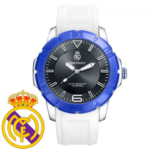 Reloj Chico Real Madrid Goma Blanco