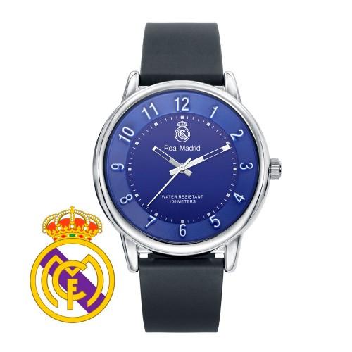 Reloj Chico Real Madrid Azul Correa Negra