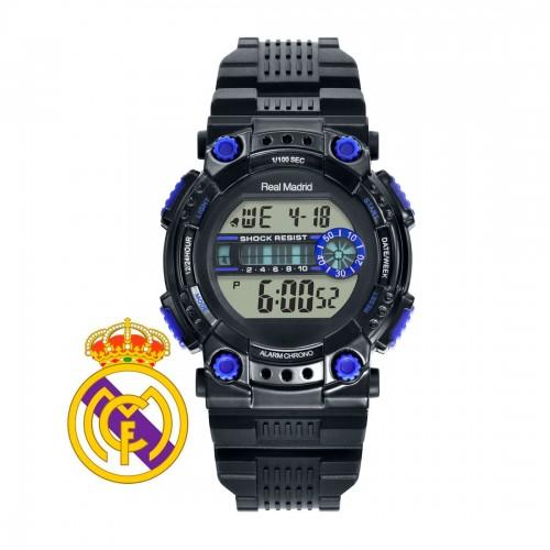 Reloj Real Madrid Digital Correa Negra