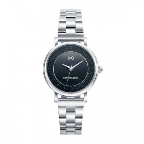 Reloj Mark Maddox Negro Brazalete Acero