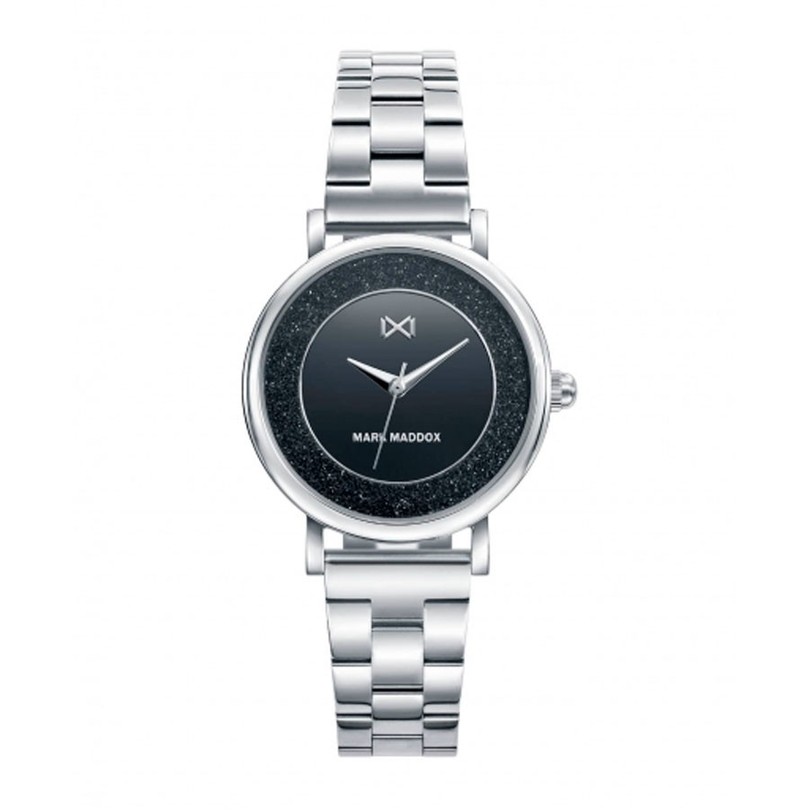 Reloj para chica Mark Maddox elegante negro con brazalete de acero