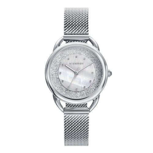 Reloj Viceroy Chica Cristales Brazalete Malla Acero
