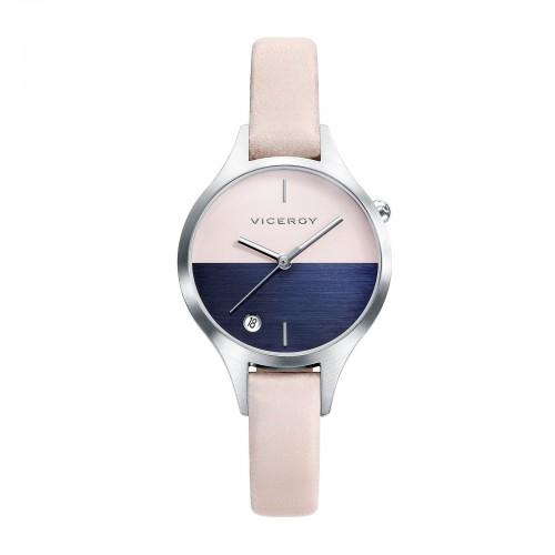 Reloj Viceroy Azul Rosa Correa Beig