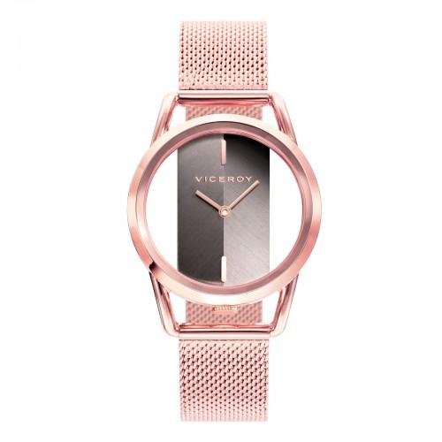 Reloj Viceroy Chica Dorado Brazalete Malla