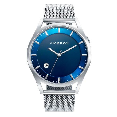 Reloj Viceroy Chico Azul Sumergible con Brazalete de Malla