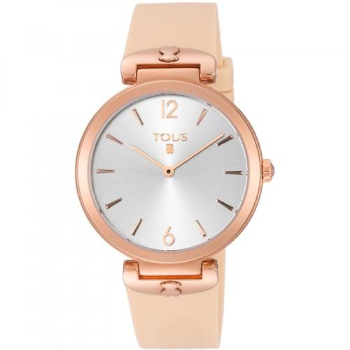 Reloj Tous S-Mesh Dorado Correa Rosa