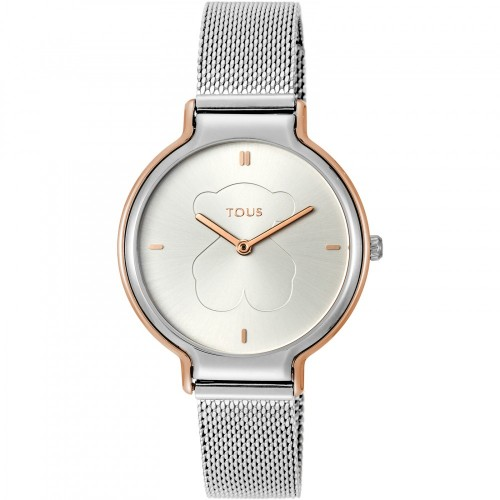 Reloj Tous Real Bear Acero Bicolor Malla