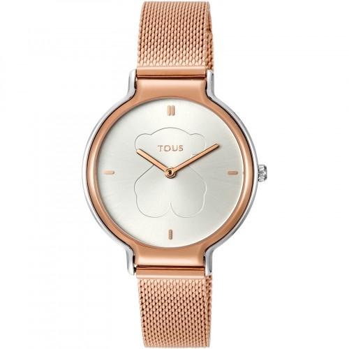 Reloj Tous Real Bear Dorado Bicolor Malla