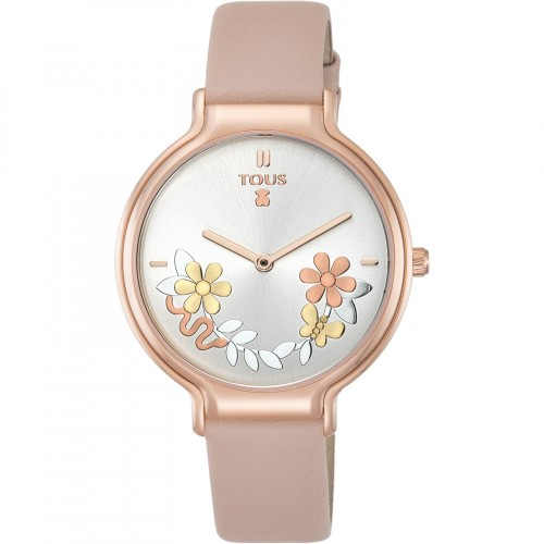 Reloj Tous Real Mix Dorado Correa Rosa