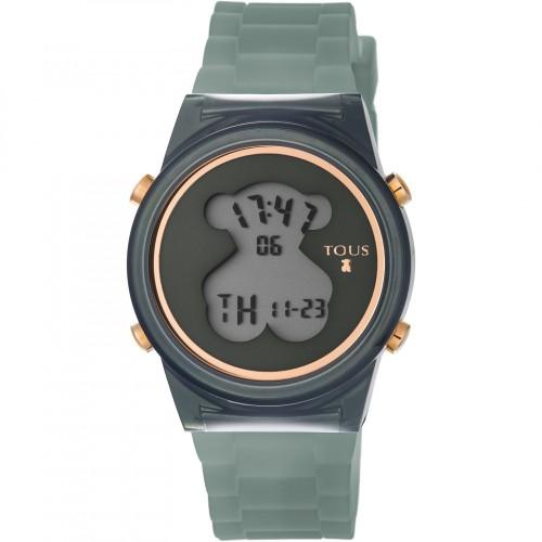 Reloj Tous D-Bear Digital Goma Gris