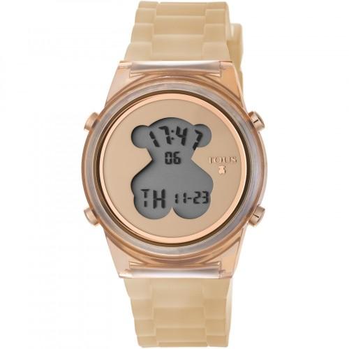 Reloj Tous D-Bear Digital Goma Nude