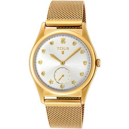 Reloj Tous Free Dorado Brazalete Malla
