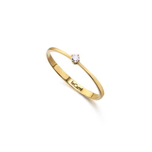 Sortija Oro Chica LeCarré Diamante