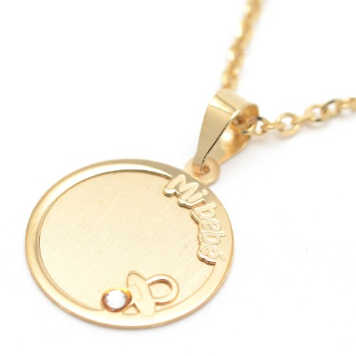 """Medalla Oro """"Mi Bebé"""""""