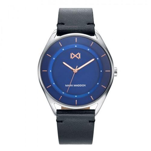 Reloj Mark Maddox Azul Correa Negra