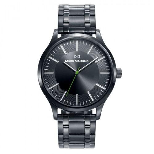Reloj Mark Maddox Negro Brazalete