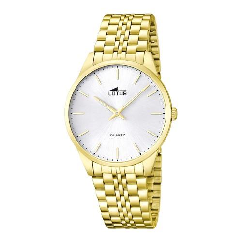 Reloj Lotus Dorado Brazalete