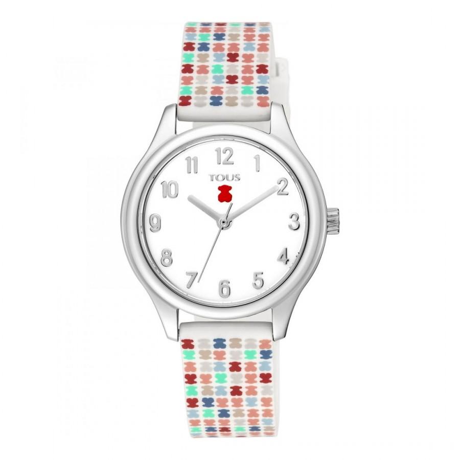 Reloj Tous Niña Tartan Kids Correa Goma Multicolor
