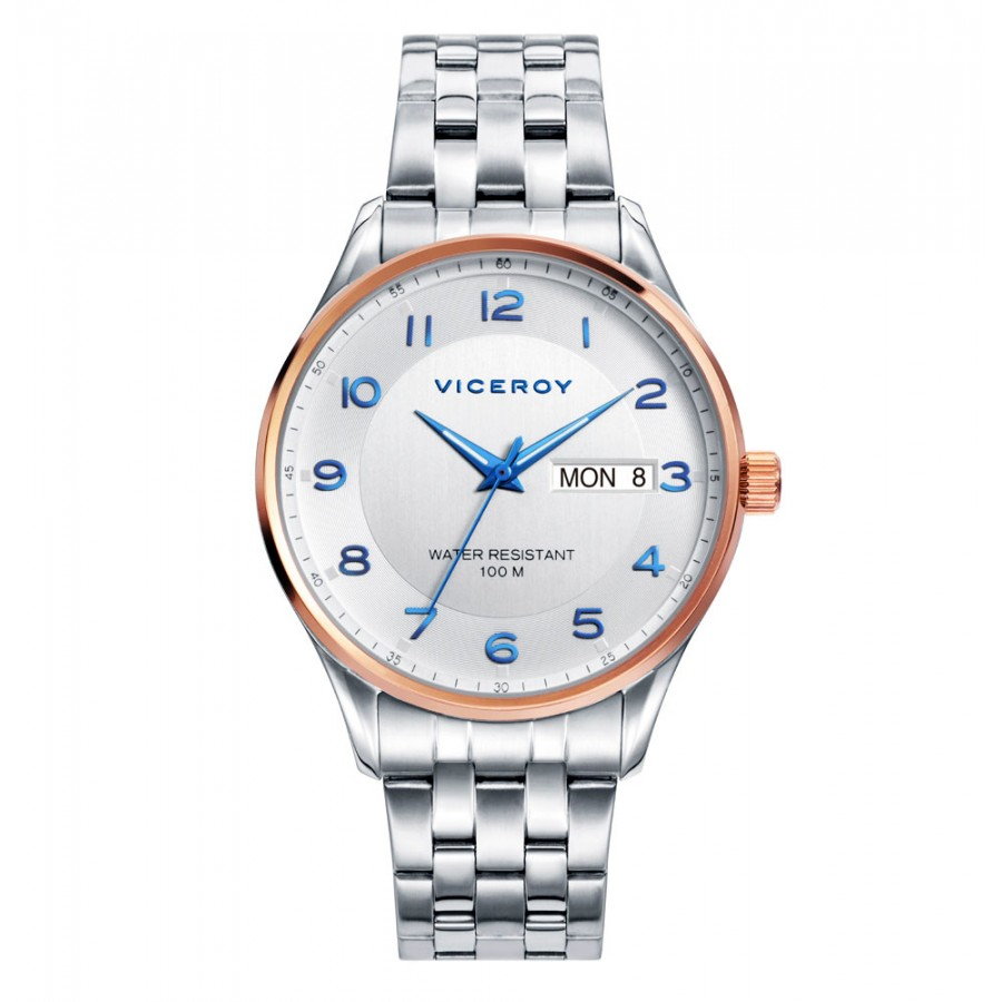 Reloj Viceroy sumergible con brazalete de acero
